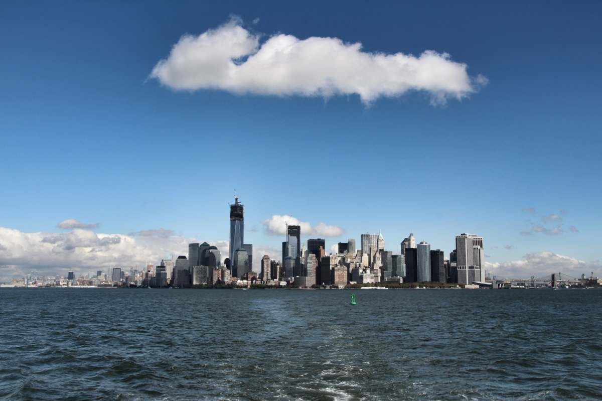 Manhattan Skyline (Downtown)